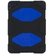 Survivor Case for iPad Air, Blue/Black