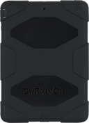 Survivor Ultimate Protection Case for iPad Air, Black