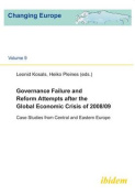 Governance Failure and Reform Attempts after the Global Economic Crisis of 2008/09