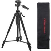 Precision Design - Bundle 150cm Photo/Video Tripod with Case