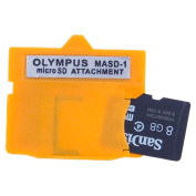 Olympus - MASD-1 xD Picture Card card adapter for microSD / microSDHC