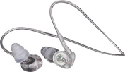 MEElectronics M6 Sports In-Ear Headphones, Clear
