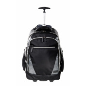 Eco Style EVOY-RB17 44cm Sports Voyage Rolling Backpack Case, Black