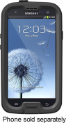 LifeProof - Case for Samsung Galaxy S III Mobile Phones - Black/Clear