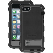 Ballistic - Hard Core Case for Apple® iPhone® 5 - Black/Charcoal