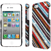 MPERO - Collection Diamante Bling Stripes Case for Apple iPhone 5