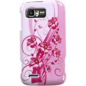 BasAcc - Blooming Lily Phone Protector Case Cover for Motorola MB865 Atrix 2