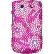 BasAcc - Candy Flowers Diamond Case Cover for RIM BlackBerry 9800 Torch 9810 Torch 4G