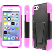 MPERO - Collection Tough Armour Kickstand Case for Apple iPhone 5C