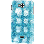 MPERO - Collection Diamante Bling Case for LG Spirit 4G MS870