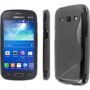 MPERO - Collection Flexible S-Shape Poly Skin Case for Samsung Galaxy Ace 3