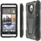 MPERO - Collection Tough Armour Kickstand Case for HTC One Mini