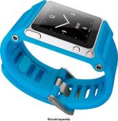 LunaTik - TikTok Multitouch Watchband for Apple® iPod® nano - Cyan