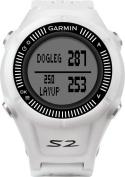 Garmin - Approach S2 Golf GPS Watch - White/Grey