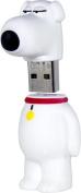 Family Guy - Brian 16GB USB 2.0 Flash Drive - Black/White