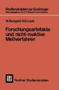 Forschungsartefakte Und Nicht-Reaktive Messverfahren