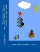 Acompanhamentos de Piano E Em Duo Para O Metodo Inicial de Violino [POR]