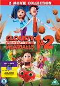 Cloudy With a Chance of Meatballs 1 and 2 [Region 2]