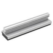 Iceberg ICE33005 Aluminium Mini Dry Erase Personal Whiteboard Eraser, 10cm - 1.3cm Length x 2.5cm - 0.6cm Width x 2.5cm - 0.6cm Height