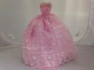 Pink Lace Barbie Dress