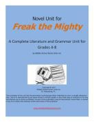 Novel Unit for Freak the Mighty