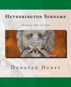 Hetherington Surname