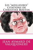 """Les """"Meilleures"""" Citations de Christine Boutin [FRE]"""