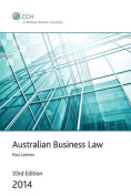 Australian Business Law 2014
