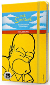 Moleskine The Simpsons Limited Edition Hard Yellow Ruled Large Notebook