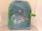 Miquelrius Agatha Ruiz de la Prada Peace & Love Large Blue Backpack