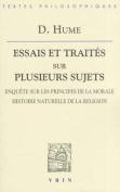 David Hume: Essais Et Traites Sur Plusieurs Sujets IV [FRE]