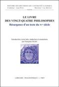 Le Livre Des Vingt-Quatre Philosophes [FRE]