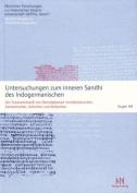 Untersuchungen Zum Inneren Sandhi Des Indogermanischen [GER]
