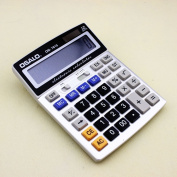 Osalo Os-7815 Solar & Electronic Power Electronic Office Calculator with Extra Large Display