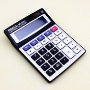 Popular office supplies OSALS OS-2200V electronic calculator with extro large display and plastic key on metal faceplate