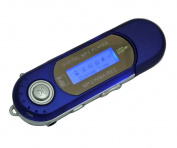 Generic M6 Blue Digital Mp3 Player for 2gb 4gb 8gb Tf/micro Sd Card Backlight LED