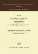 Verschleissuntersuchungen Beim Walzfrasen Statisches Und Dynamisches Verhalten Von Walzfrasmaschinen  [GER]