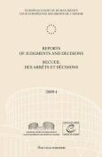 Reports of Judgments and Decisions / Recueil Des Arrets Et Decisions Vol. 2009-I