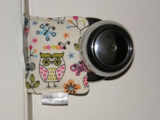 Cushy Closer 100-413 Door Cushion in Owls, Birds and Butterflies