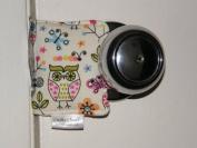 Cushy Closer 100-413 Door Cushion in Owls, Birds and Butterflies
