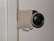 Cushy Closer 100-513 Door Cushion in Natural Solid