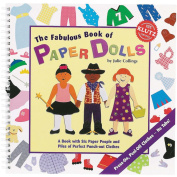 Klutz The Fabulous Book Of Paper Dolls Book Kit