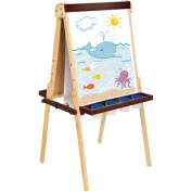 Guidecraft Deluxe Double-Sided Floor Easel