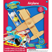 Works Of Ahhh... Wood Paint Kit-Aeroplane