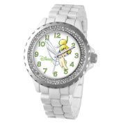 Disney Women's Tinker Bell Enamel Sparkle Bracelet Watch