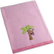 Garanimals Girls' Embroidered Fleece Blanket