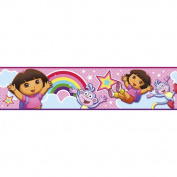 Nickelodeon - Dora Rainbow Wall Border