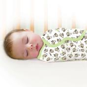 Garanimals SwaddleMe Infant Wrap, 2-Pack, Monkey Vine, Size Small/Medium