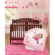 Child of Mine by Carter's Ballerina Monkey 3-Piece Crib Bedding Set