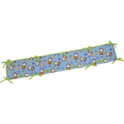 Little Bedding by NoJo Born to Rock Crib Bumper